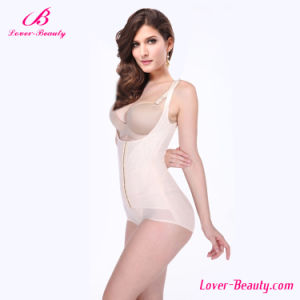 Hexin Fashionable Nude Steel Boned Sexy Mature Shapewear pictures & photos