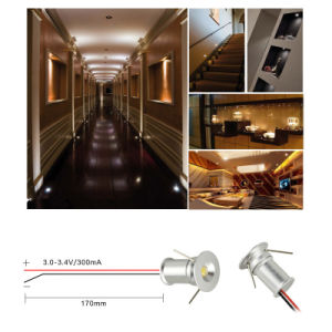 1W IP65 12V DC Mini LED Downlight Outdoor Bulb Lighting pictures & photos