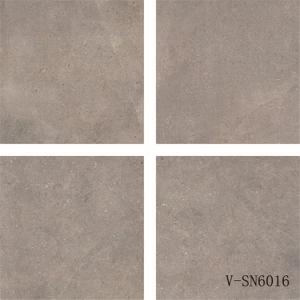 China Factory Latest Design Four Faces Matt Porcelain Grey Floor Tile (600X600mm)