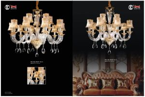 Fashion & Simple Crystal Chandelier Light pictures & photos
