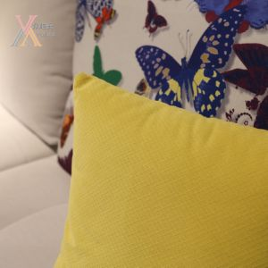 Modern Colorful Fabric Sofa with Corner (992A) pictures & photos