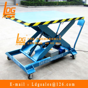 Customized Mobile Hydraulic Mini Lift (SJY0.3-0.5) pictures & photos