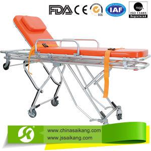 Medical Appliances Economic Emergency Patient Stretcher Trolley pictures & photos