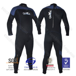 3mm Neoprene Diving Suit Wet Suit Long Sleeve Full Suit Swimwear pictures & photos