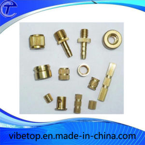 China Manufacturer Precision Brass CNC Lathe Machine Parts pictures & photos