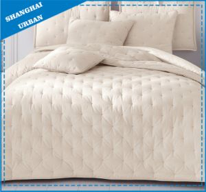 European Style Soft Velvet Quilted Bedspread pictures & photos