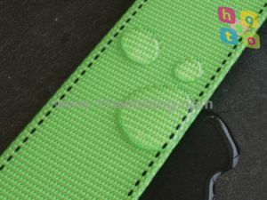 Grass Green TPU Waterproof Nylon Webbing pictures & photos