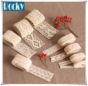 Hot Sale White Lace Trimming Cotton Lace for Dress