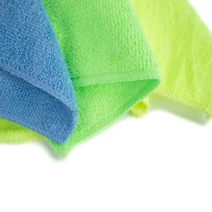 Microfiber Cleaning Cloths Roll pictures & photos