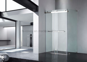 Frameless Sliding Shower Screen with 304#SUS Hardware Upc-01