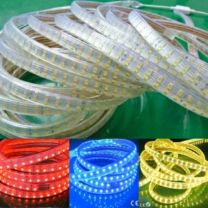 Double Row 120LED RGB LED Strip Rope Light Ribbon/Tape/Bar pictures & photos
