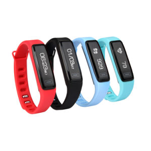 New Style Smart Bracelet Bluetooth with Heart Rate Monitor Sport Wristband pictures & photos