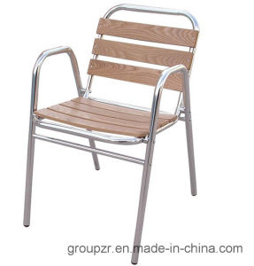 Chinese Hard Wood+ Aluminum Tube Garden Leisure Chair pictures & photos