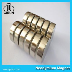 N35 N42 N50 N52 Strong Permanent Disc Neodymium Iron Boron Magnet pictures & photos
