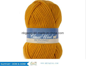 China Eco Friendly Mohair Wool Factory Wholesale Oeko Tex High Quality Hand Knitting Fancy Mohair Yarn Roving Yarn. pictures & photos