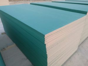 Water Proof Gypsum Board/Green Board 1200*2400*12mm for Wet Situation pictures & photos