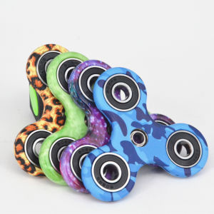 2017 ABS Material Ceramic Ball Bearing Fidget Spinner Tri-Spinner Hand Spinner Bearing Anti Stress Fidget Hand Spinner pictures & photos
