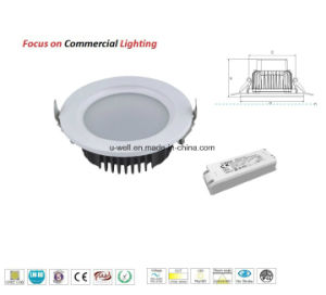 10W COB White Aluminum Dimmable Warm White LED Downlight pictures & photos