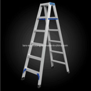 Step Ladder Folding Aluminum Atticladder pictures & photos