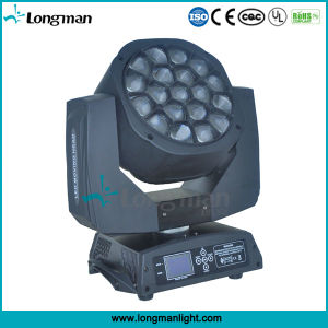 LED 19pcsx15W Big Bee Eye Moving Head Light with Zoom pictures & photos