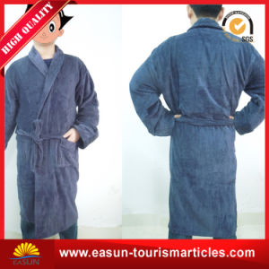 Custom Wholesale Velour Hotel Bathrobe pictures & photos