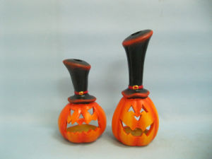 Halloween Pumpkin Ceramic Arts and Crafts (LOE2382-A18z) pictures & photos