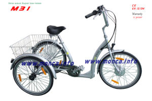 EU Popular Electric Tricycle Three Wheel E-Bike Old Men Children Outdoor Tourney Vehicle E Bicycle pictures & photos