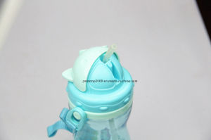 500ml New Baby Feeding Bottle with Strew BPA Free Bottle Food Grade pictures & photos