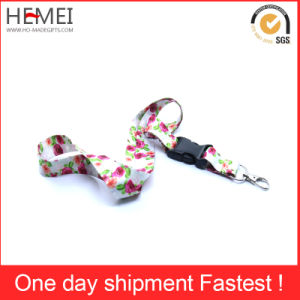 Factory Price Woven Lanyard with Safety Lock pictures & photos