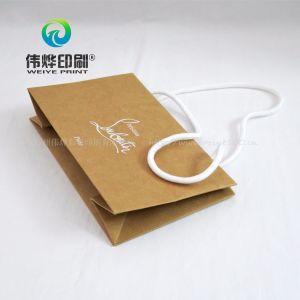 Customized Printing Brown Paper Gift Bag Use for Comapny Promotion pictures & photos