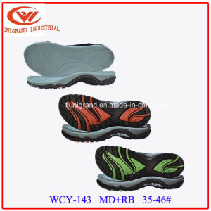 Beach Rubber and EVA Sole Sandals Outsole for Outdoor pictures & photos