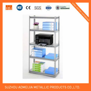 Storage Metal Slotted Angle Shelving 5 Layer pictures & photos