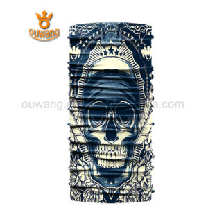 Seamless Tube Skull Scarf Bandana Headwear Wrap Neck Gaiter Skiing Bandana Sun Protective Face Mask pictures & photos