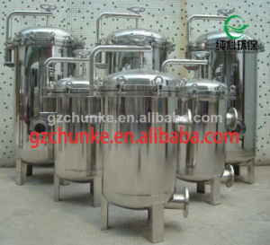 Industrial Stainless Steel Bag Water Filter for Water Purification pictures & photos