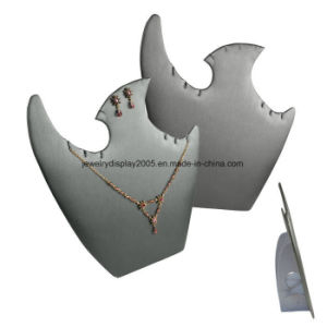 "Modern Steel Grey Jewelry Set Display Display Stand W/Easels 9 3/5"" X 9 1/2"" pictures & photos"