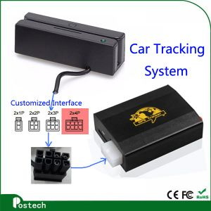 RS232, Ttl, USB Interface Reprogrammable Magnetic Stripe Card Reader Msr100 with Free Software for GPS Tracking System pictures & photos