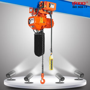 380V 1 Ton Electric Chain Hoist with Overhead Protection pictures & photos