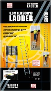 Aluminum Telescopic Ladder pictures & photos