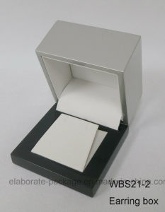 Double Colors Available Wooden Jewelry Box Cosmetic Package Box pictures & photos