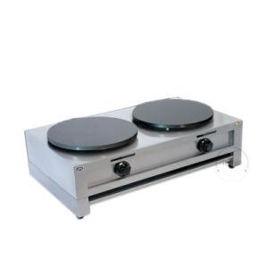 Hotsale Commercial Double Plate Crepe Maker Pancake Machine pictures & photos