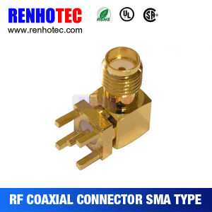 Straight SMA Connector Plug Male Crimp Cable Rg316 Rg174 pictures & photos