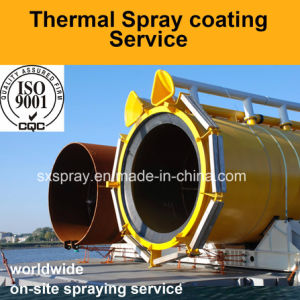 Thermal Spray Coatings Service From China to Prevent Corrosion Under Insulation (CUI) of Turbine Compressor Pump Pipeworks Oil Refineries pictures & photos