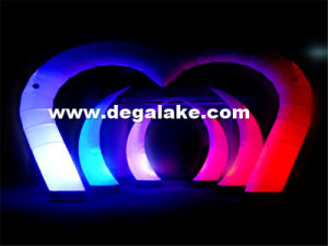 LED Lighting Inflatable Arch for Wedding Inflatable Lighting Arch pictures & photos