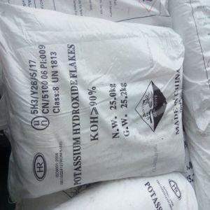 Potassium Hydroxide Flakes KOH CAS No.: 1310-58-3 pictures & photos