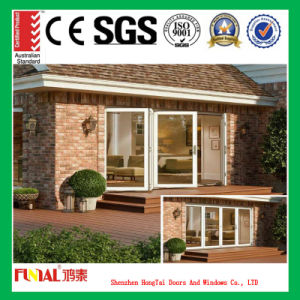 Hot Selling Tempered Glass Bifold Folding Door