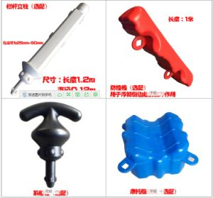 High Quality White Handrail Connected by PP Pipe or Rope pictures & photos