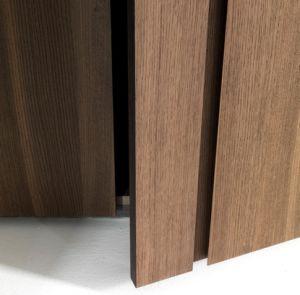 Wood Grain Melamine Laminate Wardrobe Bedroom Furniture Popular pictures & photos
