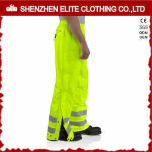 Fluorescent Green Roadway Reflective Waterproof Safety Pants (ELTHVPI-24) pictures & photos