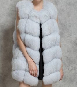 Women′s Fashion Fake Fur Vest OEM Order pictures & photos
