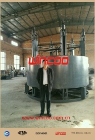 Automatic Top-to-Bottom Tank Hydraulic Jack for Fgd/Tank Project pictures & photos